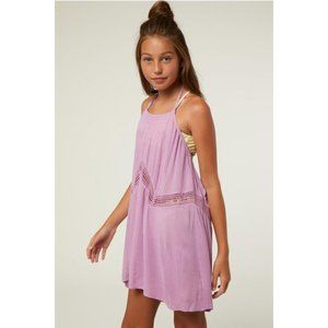 O'Neill ISSEY Girls Neck Tie Cover-Up Lavender L